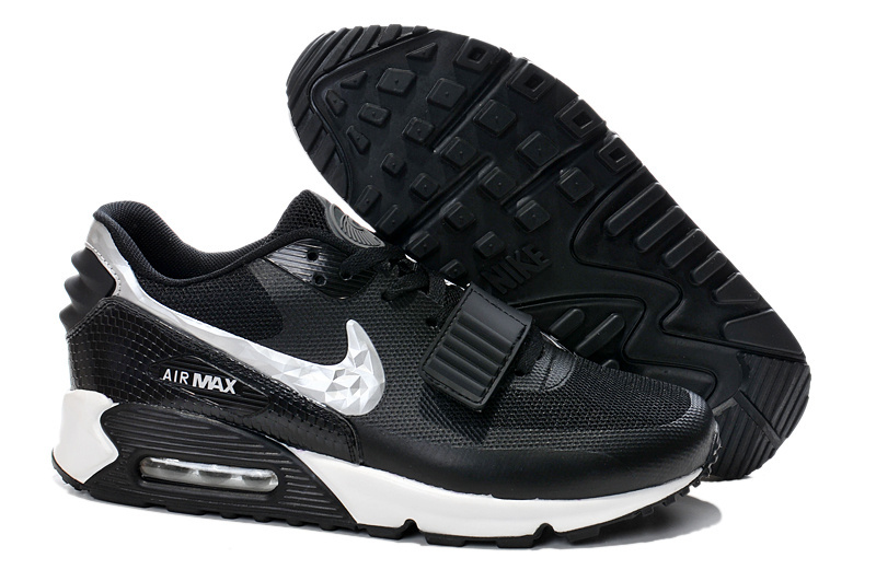 Nike Air Max 90 Monster Black White Running Sneaker