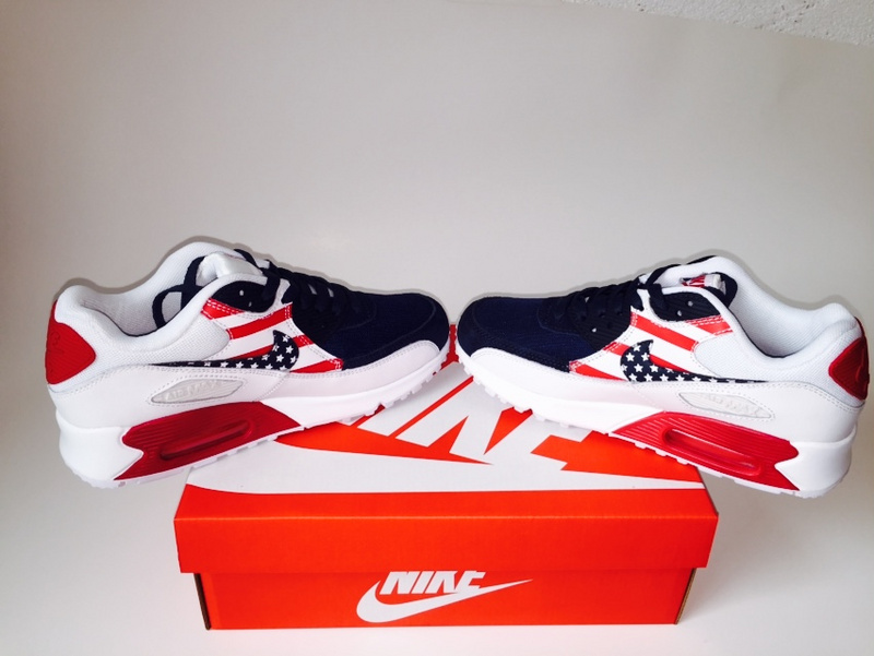 Nike Air Max 90 USA Flag Sneaker