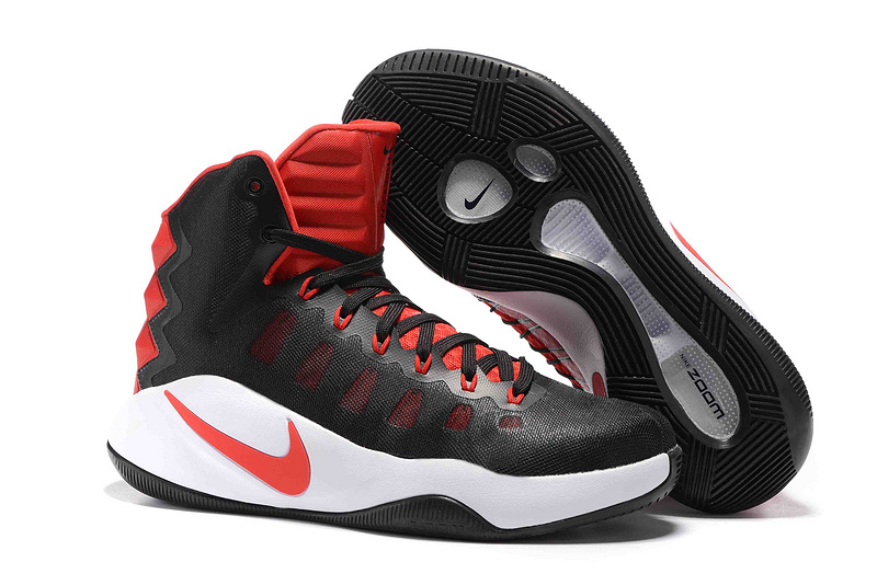 Nike Hyperdunk 2016 High Black Red Olympic Basketabll Shoes