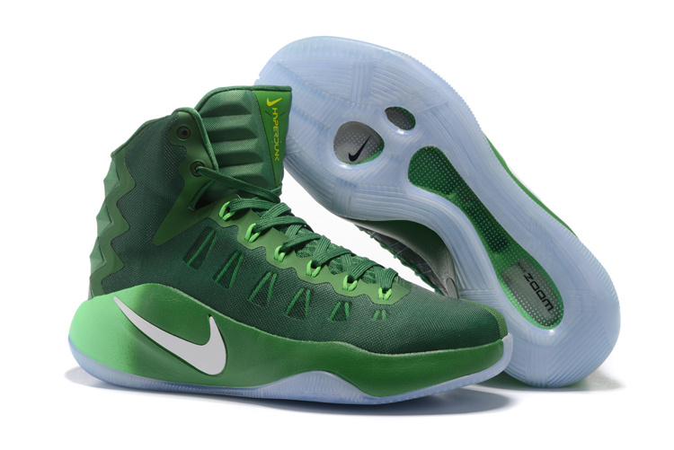 Nike Hyperdunk 2016 High Dark Green Olympic Basketball Shoes