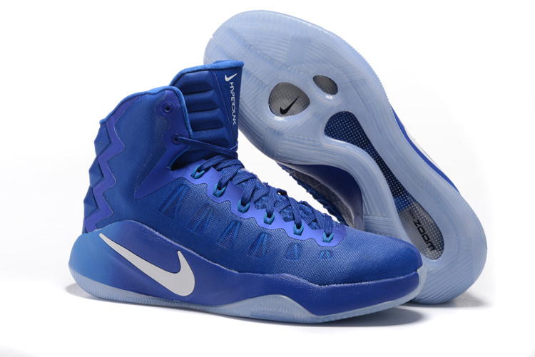 Nike Hyperdunk 2016 High Jade Blue White Olympic Basketball Shoes