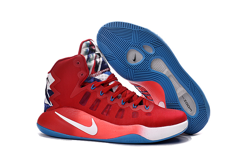 Nike Hyperdunk 2016 High USA Olympic Basketball Shoes