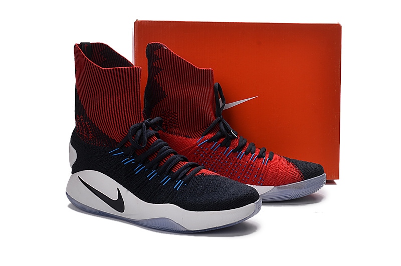 Nike Hyperdunk Flyknit 2016 High USA Team Basketball Shoes