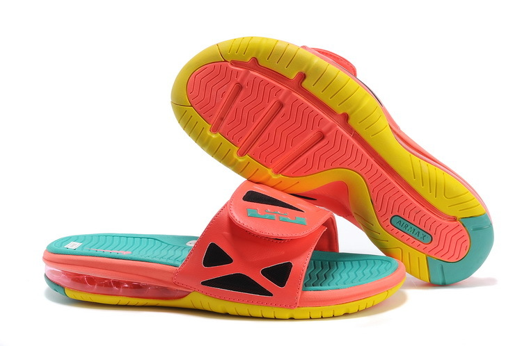 Nike Lebron Slippers Watermelon Color