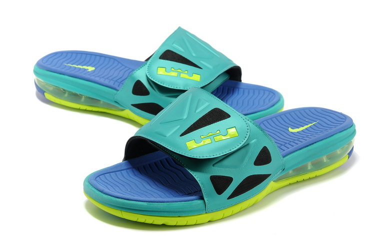 Nike Lebron Hydro Green Fluorescent green Sandals