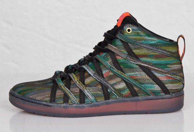 Nike KD 7 Elite Green Snake Skin Basketball Shoes