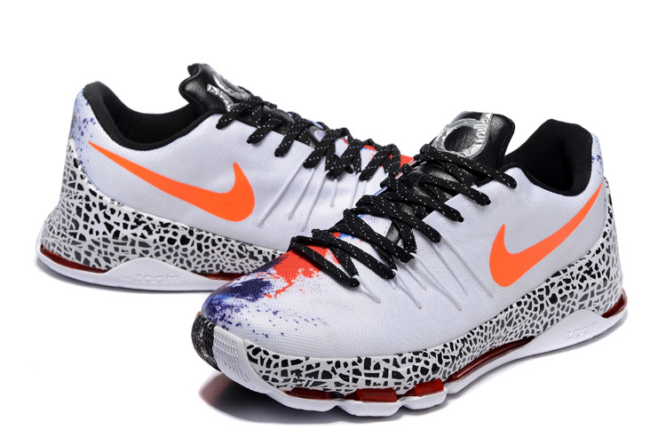 Nike KD 8 Christmas Snow Basketball Shoes