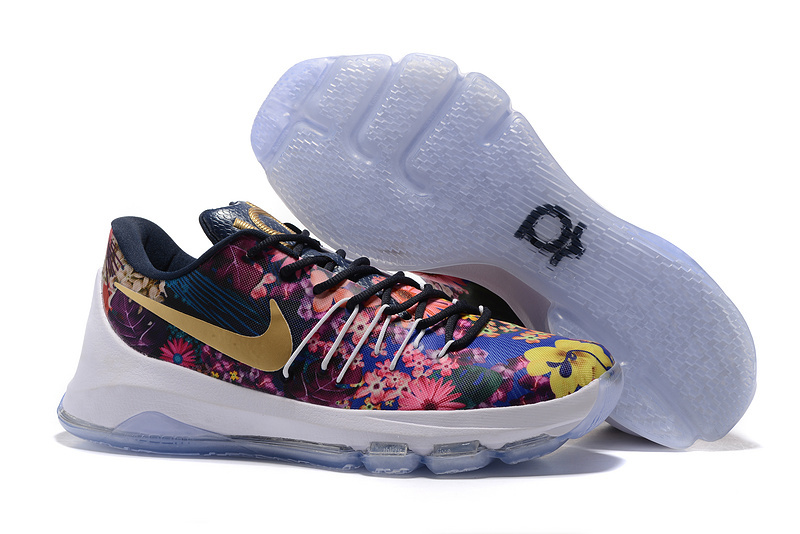 Nike KD 8 Floral Printing Edtition basketball Shoes