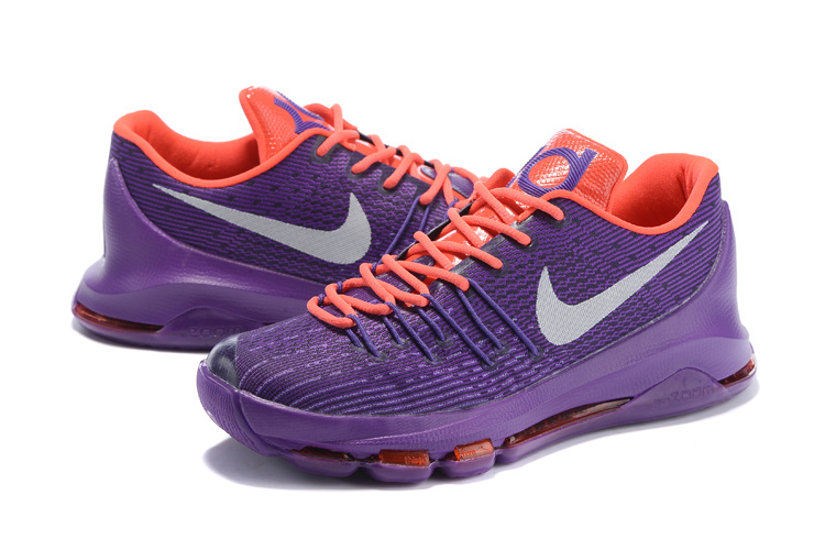 Nike KD 8 Purple Black Basketball Shoes