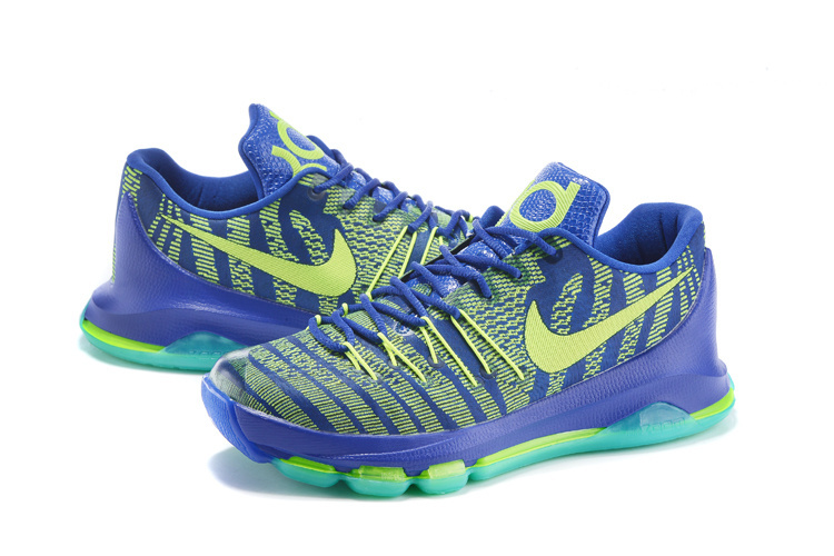 Nike KD 8 Sprite Edition Basketball Shoes
