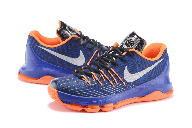Nike KD 8 Thunder Team Basketball Shoes