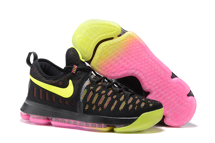 Nike KD 9 Black Pink Shoes