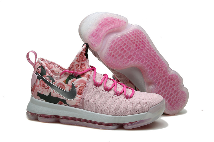 Nike KD 9 Pink Black Shoes
