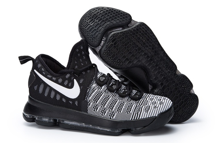 Nike KD 9 White Black oreo Shoes