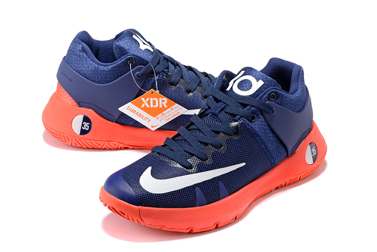 Nike KD Trey 5 III Dark Blue Orange Sneaker