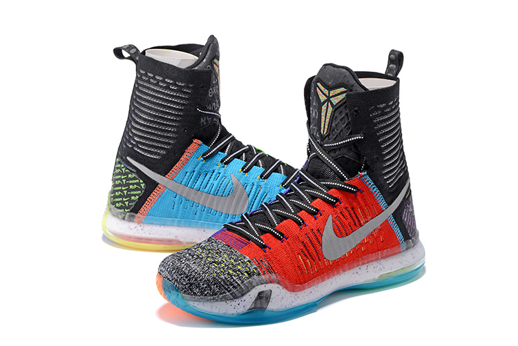 Nike KObe 10 High Mixed Colors Basketball Shoes