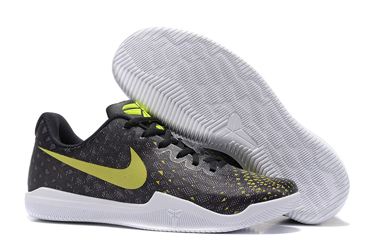 Nike KObe 12 Black Yellow Shoes