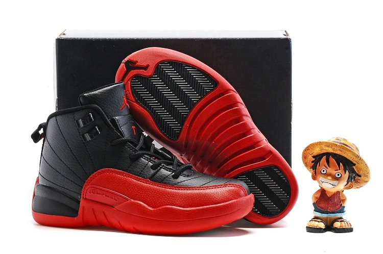 Nike Kids Air Jordan 12 Flu Game Shoes