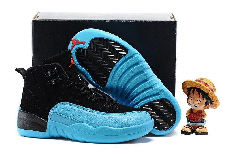 Nike Kids Air Jordan 12 Gamma Blue Shoes