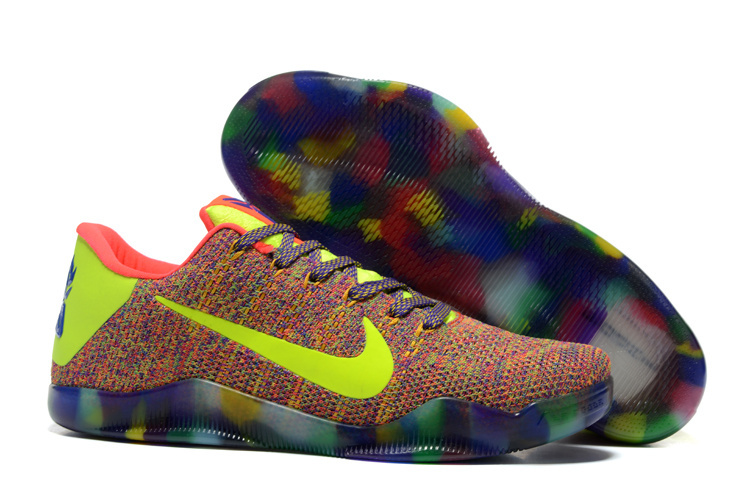 Nike Kobe 11 Rainbow Basketabll Shoes