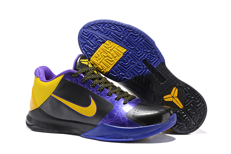 Nike Kobe 5 Black Yellow Purple