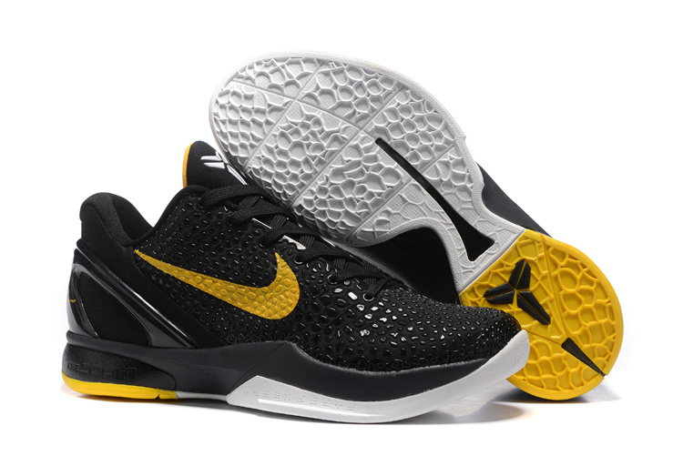 Nike Kobe 6 Black Yellow Shoes