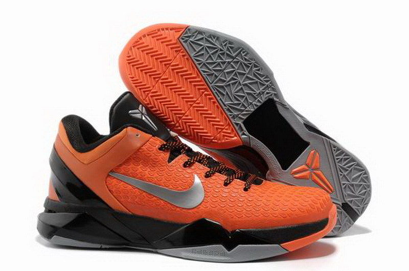 Nike Kobe 7 Orange Red Black Sneaker
