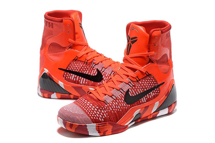 Nike Kobe 9 High Christmas Version Basketabll Shoes
