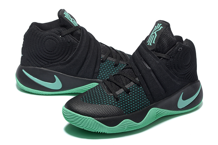 Nike Kyrie 2 Black Green Basketball Shoes