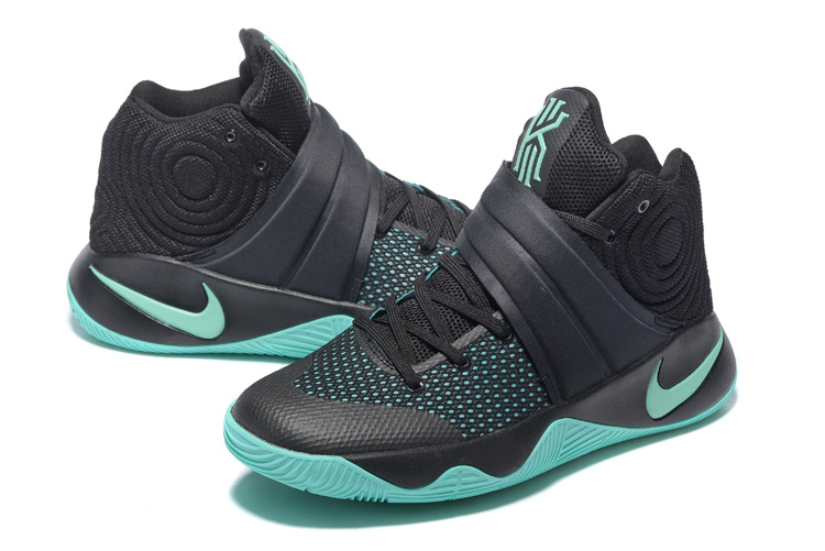 Nike Kyrie 2 Black Light Green Basketball Shoes
