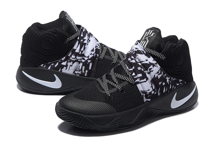 Nike Kyrie 2 Black White Basketball Shoes