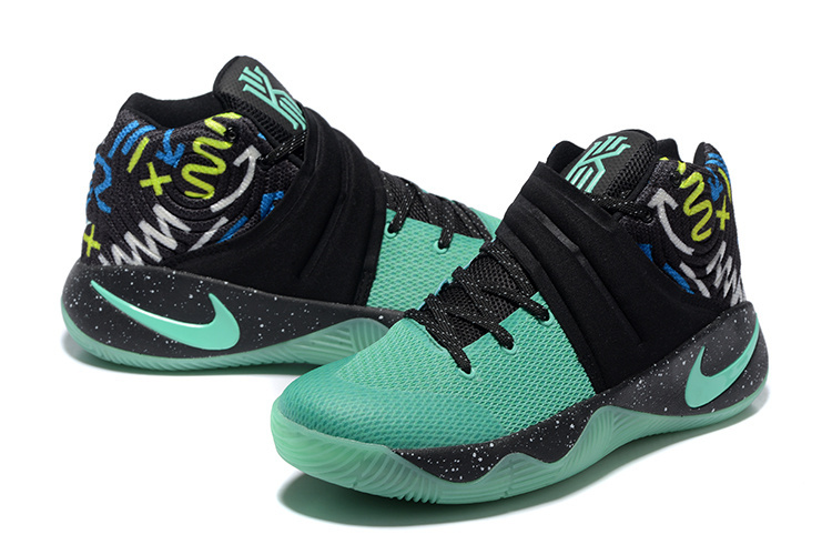 Nike Kyrie 2 Mint Green With Glow In Dark Outsole Basketball Shoes