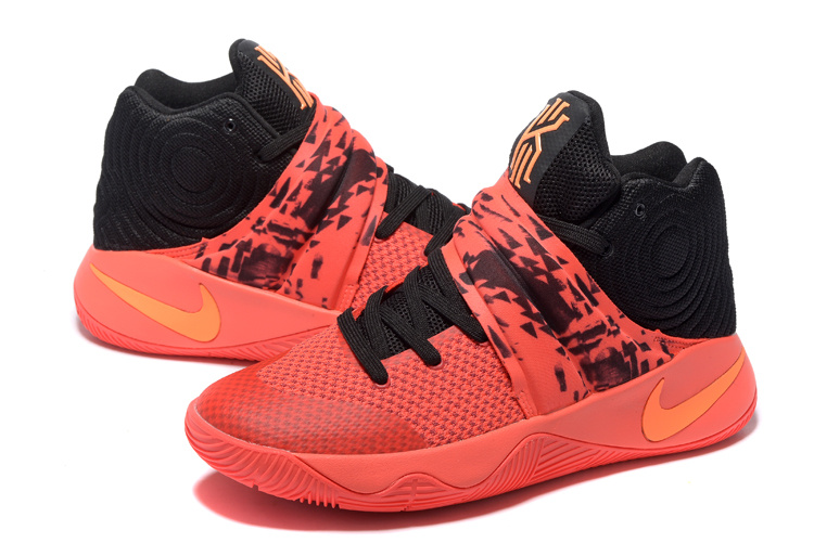 Nike Kyrie 2 Orange Black Basketball Shoes