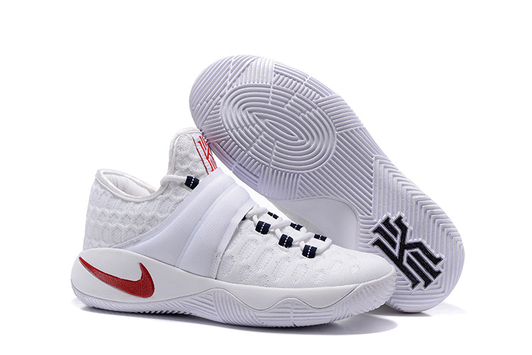 Nike Kyrie 2.5 All White Basketball Shoes