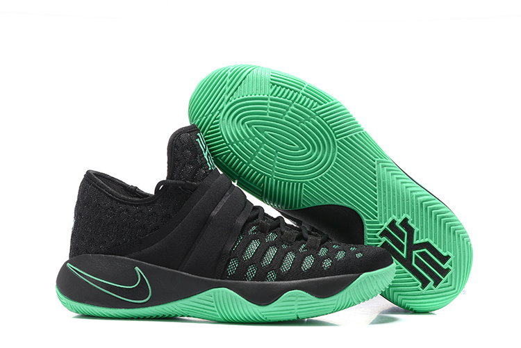 Nike Kyrie 2.5 Black Green Basketball Shoes
