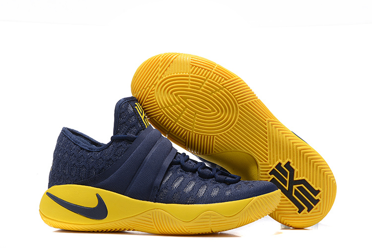 Nike Kyrie 2.5 Black Yellow Basketball Shoes