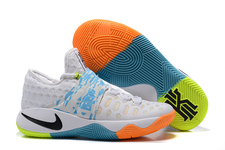 Nike Kyrie 2.5 White Colors Basketball Shoes