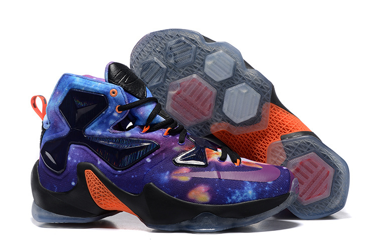 Nike LeBron 13 Starry Sky Version Basketball Shoes