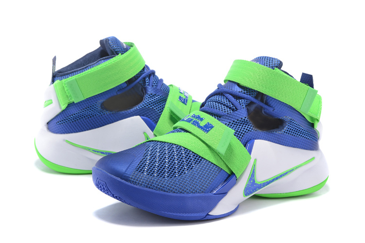 Nike LeBron Soldier 9 Sprite Basketabll Shoes