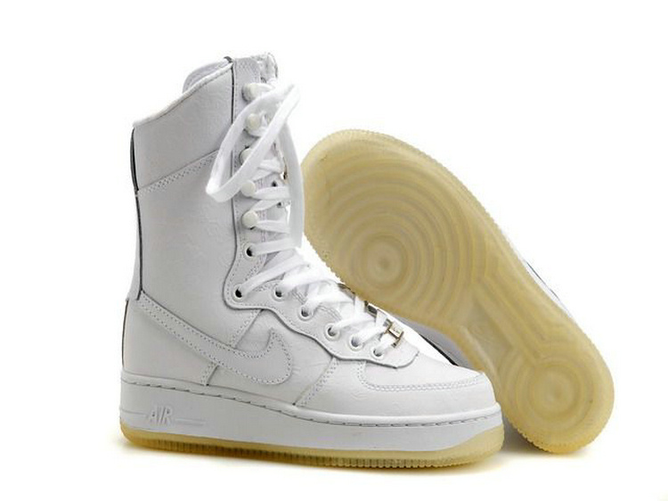 Nike Women Air Force 1 High Off-White Dancing Boot