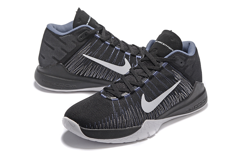 Nike Zoom Ascention Black Grey Shoes For Sale