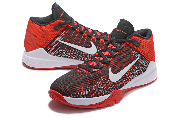 Nike Zoom Ascention Red Black White Shoes