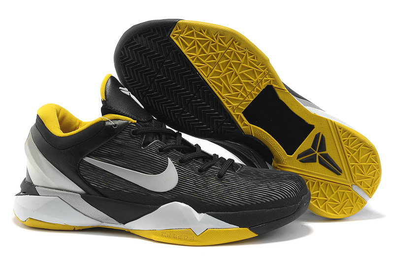 Nike kobe 7 Black Yellow Sneaker