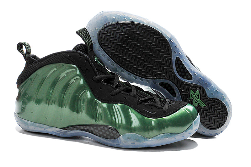 Nike Air Foam Penny Hardaway Classic Green Black Shoes