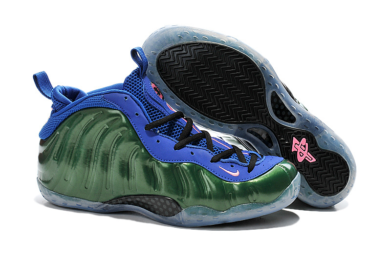 Nike Air Foam Penny Hardaway Original Green Blue Shoes