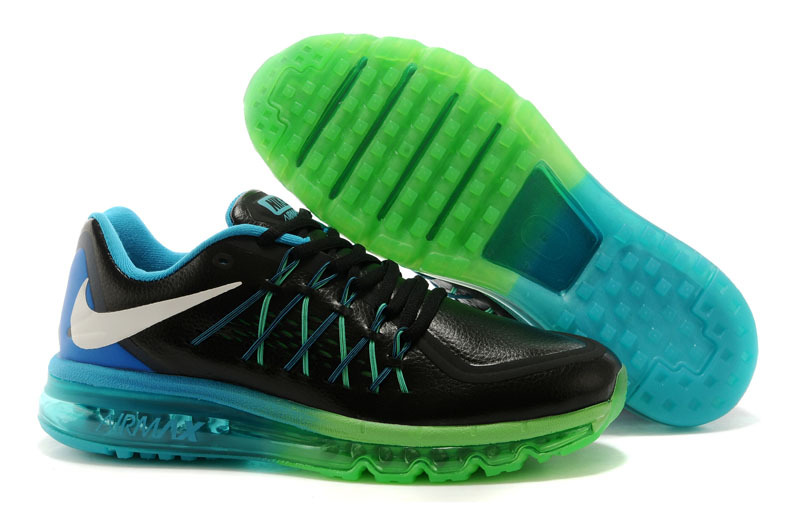 Nike Air Max 2015 Black Blue Gree Runnings