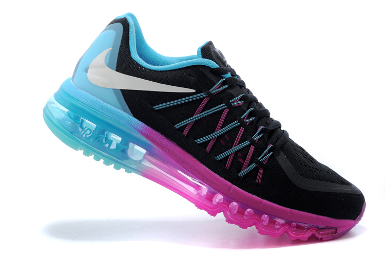 Nike Air Max 2015 Black Blue Pink Runnings
