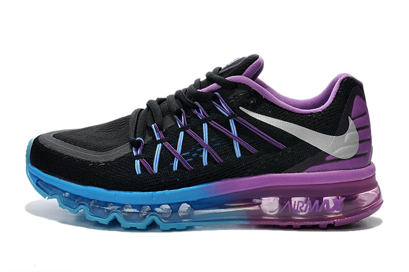Nike Air Max 2015 Black Blue Purple Runnings