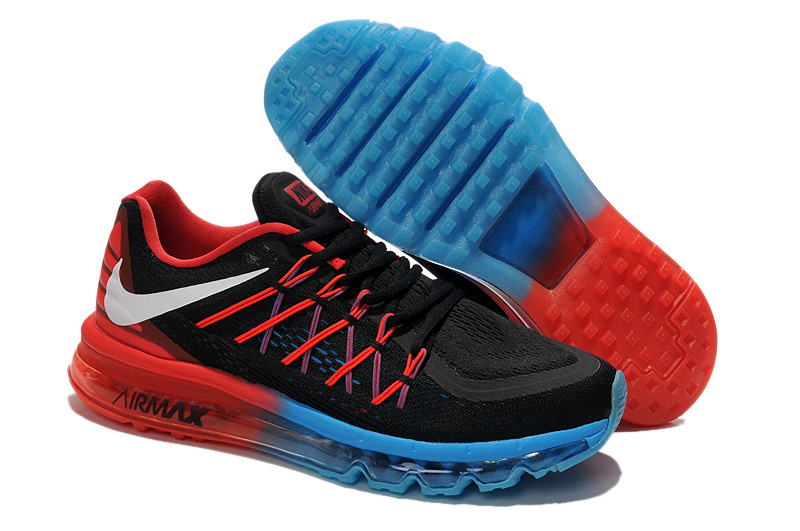 Nike Air Max 2015 Black Blue Red Runnings