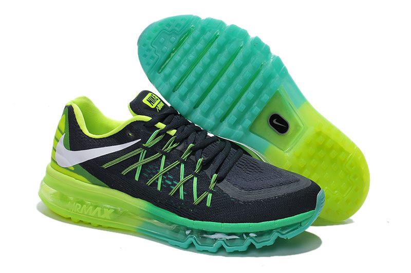 Nike Air Max 2015 Black Green Blue Sneaker